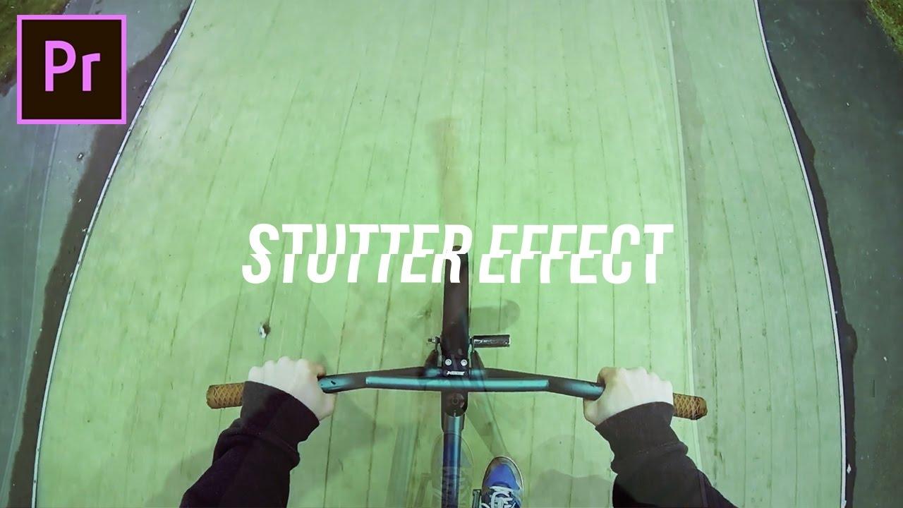 How to Create a Time Stutter Glitch Effect in Adobe Premiere Pro (CC 2017  Tutorial)