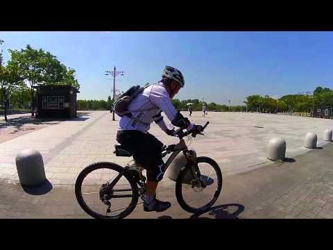 어르신들의 반란 - 산악자전거 익히기