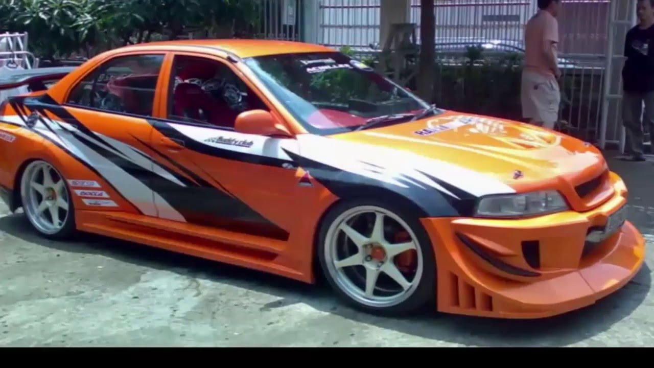 Mitsubishi Eclipse 2016 >> modifikasi mobil timor semi racing - YouTube