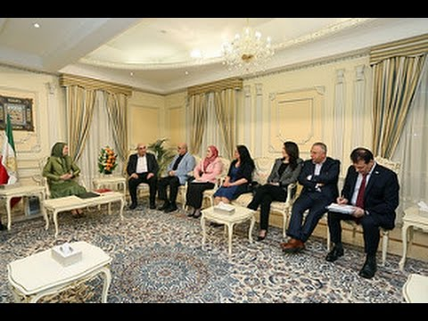 Maryam Rajavi meets with a high level delegation of Syrian resistance June 12,2016