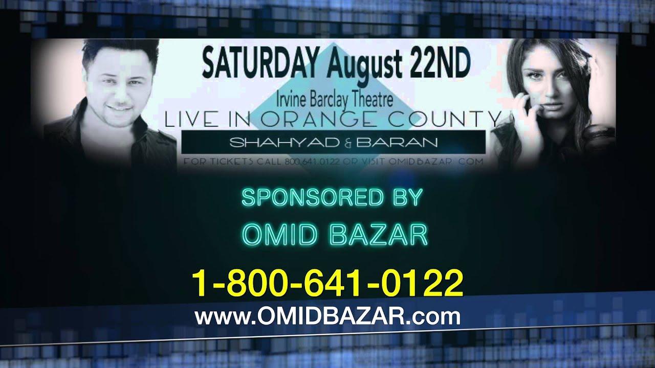 Shahyad & Baran Live in Concert - Irvine, United States - Kodoom
