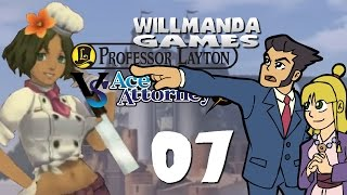 Professor Layton vs Ace Attorney - part 7 - Lead Pipes and Fingerprints
