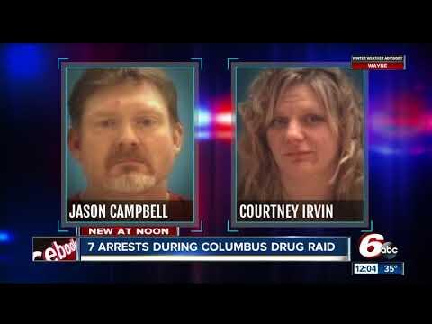 7 People Arrested During Columbus Drug Raid