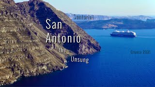 Destination Santorini,Greece!San Antonio the Unsung ultra HD!