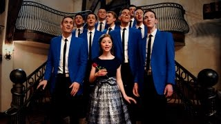beauty and the beast a cappella medley   byu vocal point ft lexi walker 4k