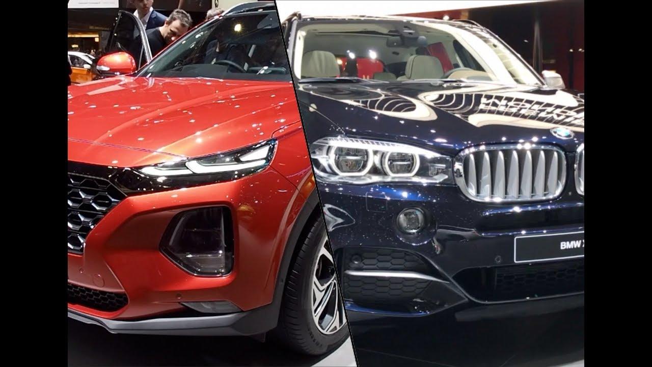 Santa Fe BMW >> Bmw X5 Vs Hyundai Santa Fe