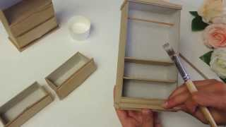 Комодик для бижутерии своими руками (часть 2) | Tavifa(, 2013-08-15T09:49:00.000Z)