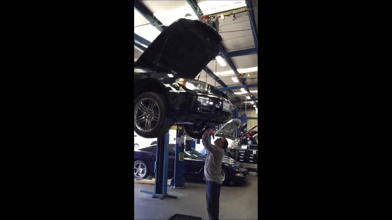 Bmw 750li 12 Cylinder Engine Oil Leak Youtube