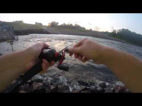 Sam Rayburn Dam Fishing
