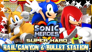 Sonic Heroes (HD) - SUPER HARD MODE - Part 4