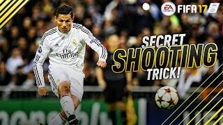 FIFA 17 GAME CHANGING SHOOTING TRICK - TUTORIAL ON HOW TO IMPROVE YOUR FINISHING !!!