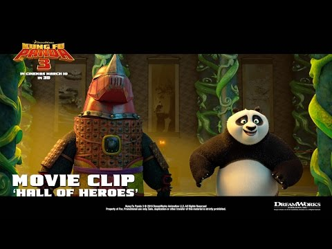 Kung Fu Panda 3 ['Hall Of Heroes' Movie Clip in HD (1080p)] from YouTube · Duration:  1 minutes 32 seconds