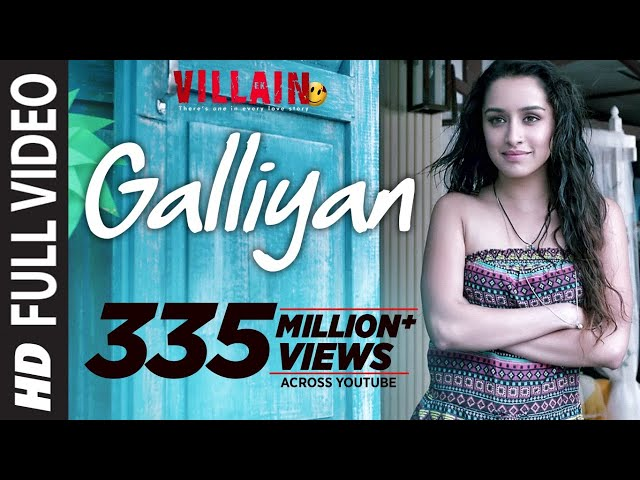 Full Video: Galliyan Song | Ek Villain | Ankit Tiwari | Sidharth Malhotra | Shraddha Kapoor
