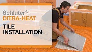 Schluter®-DITRA-HEAT: Tile Installation