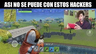 It's Full of Hackers D:- Fortnite on Android Moments Tio Trasherk #2