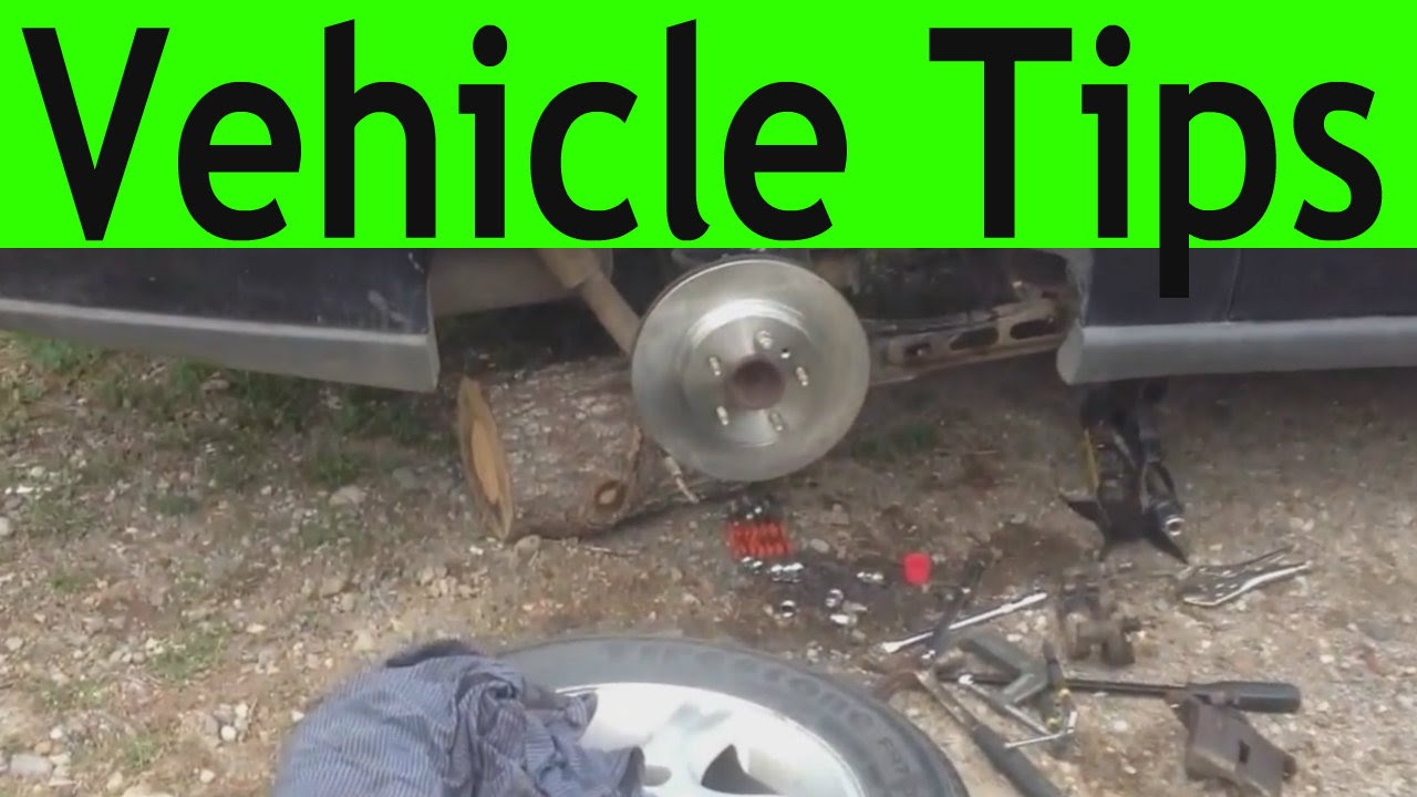 Vehicle Tips How To Disconnect The Parking Brake Cable On