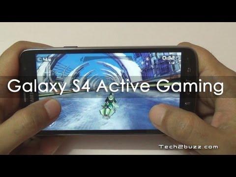 Samsung Galaxy S4 Active Gaming Review