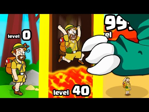 Surviving the MOST DANGEROUS TRAPS in Pull Him Out (9999+ treasure level) |