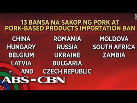 TV Patrol: Ban sa pork mula Japan, kasado; karneng Mongolia ibabawal