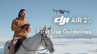 DJI Air 2S | First Use Guidelines screenshot 5