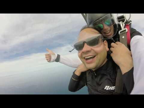 Shalabh Kumar at Coastal Skydive