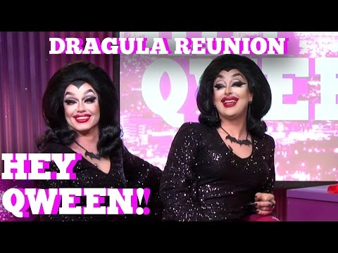 DRAGULA Reunion on Hey Qween! With Jonny McGovern Part 1