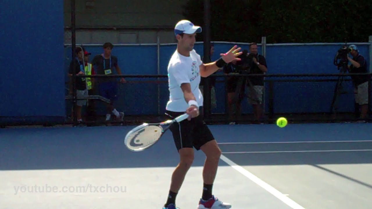 Tennis Forehand Technique Drills Slow Motion Video
