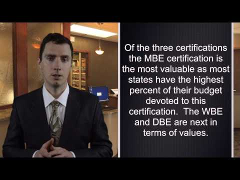 MBE Certification & its Benefits: Getting Your Company Into State Contracting