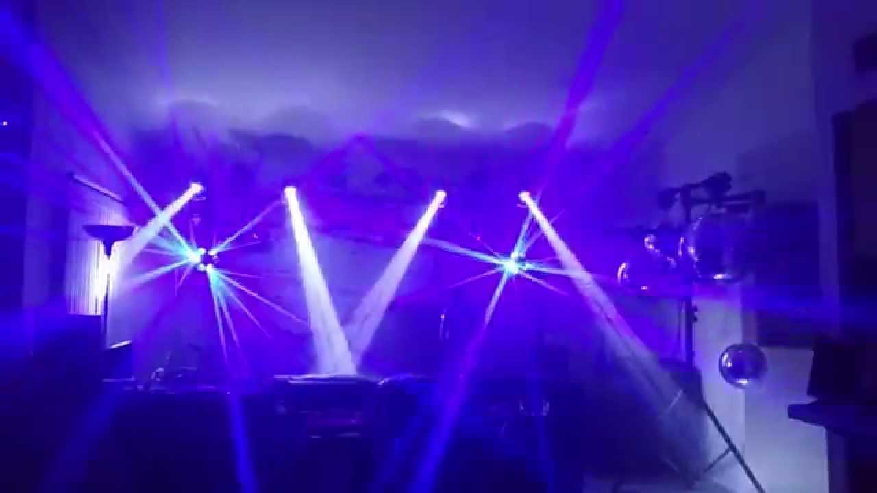 My DJ Light Setup