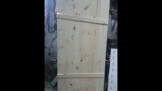 видео Как сделать дверь в баню своими руками (самому)?