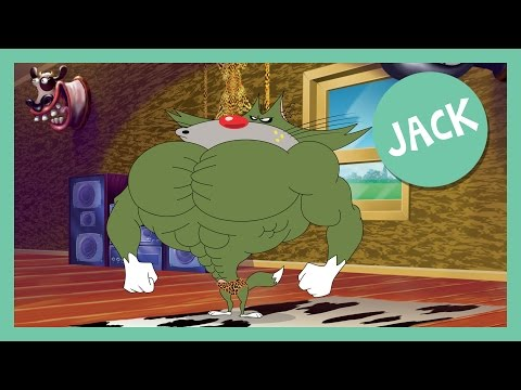 Oggy and the Cockroaches - Jack - Compilation HD