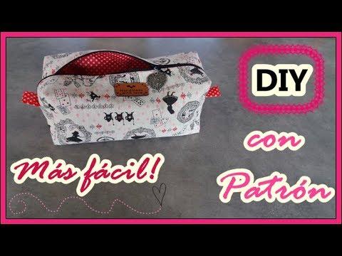 Neceser Paso A Paso Con Patrón Yuyi S Creations Youtube