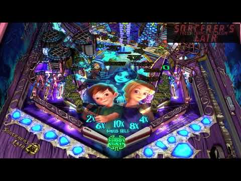 Achieving MIDNIGHT wizard feature on sorcerer's lair, 484 million. Pinball FX3
