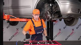 Jak vyměnit tyčka stabilizátoru přední na MERCEDES VITO W639 [NÁVOD AUTODOC]