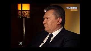 Виктор Янукович интервью НТВ 21.02.2015(Президент без страны Виктор Янукович дал интервью журналистам через год после событий в Киеве., 2015-02-21T09:40:20.000Z)
