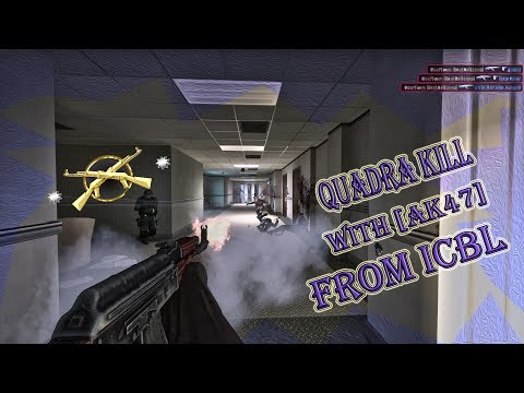 Quadra Kill [With Ak47] From ICBN