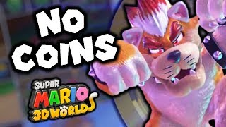 How many coins does it take to beat Super Mario 3D World?