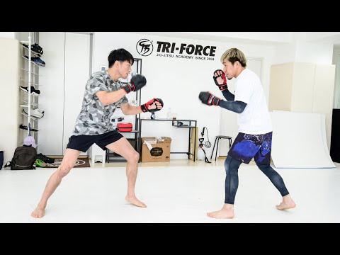 【公開練習】朝倉海  (with 昇侍)  | Yogibo presents RIZIN.28