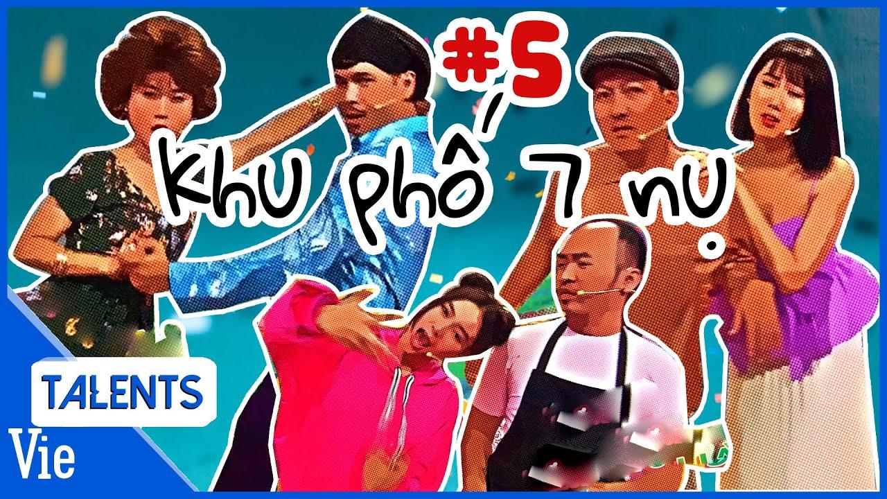 KHU PHỐ 7 NỤ #5: Dương Lâm dụ Lâm Vỹ Dạ, Lan Ngọc đi thẩm mỹ để được bơm free bờ môi size 10XL