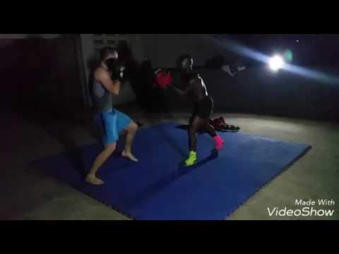 Torado Bruce kickboxing classes at Accra Sports Stadium