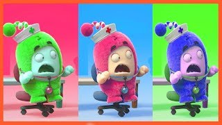 Learn colors with Oddbods 04
