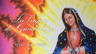Our Lady of Guadalupe Time-Lapse Art Drawing video - Dibujando La Virgen de Guadalupe