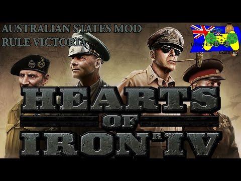 Hearts of Iron 4 Australian States Mod - Rule Victoria! |
