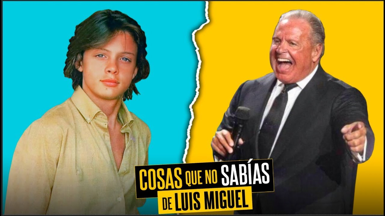10 Cosas que no sabías de Luis Miguel