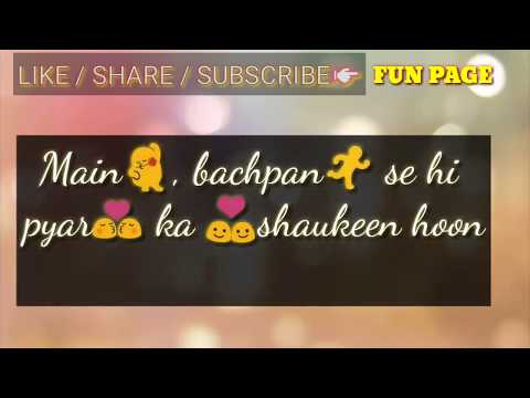 Aise Na Dekh |mr.Jatt|ft.milind Gaba | Whatsapp Status |fun Page|