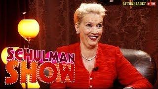 Gunilla Persson i Schulman Show