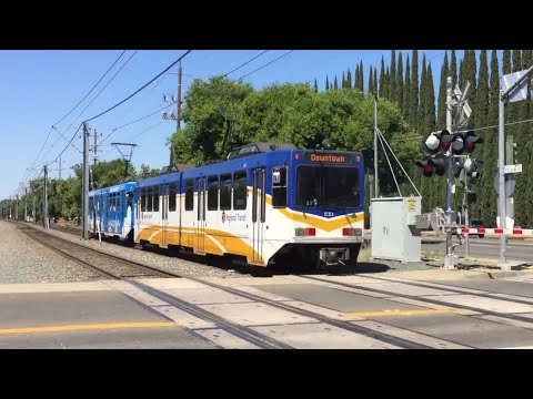 Sacramento Light Rail Trains Month Of June 2017