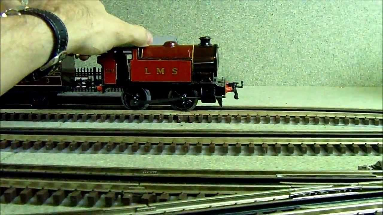 Hornby Clockwork Lms 0 4 0 Tank Engine Youtube