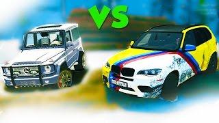 BMW X5 Против ГЕЛИКА на Бездорожье