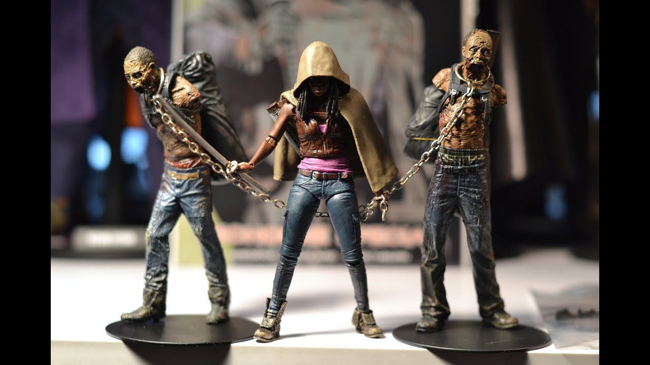 McFarlane Toys - The Walking Dead Deluxe Figure - MICHONNE (10 ...